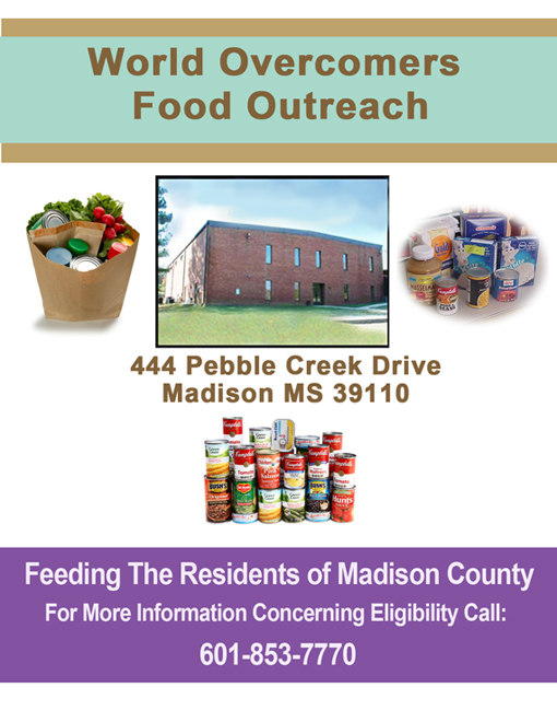 World Harvest Food Bank Flyer